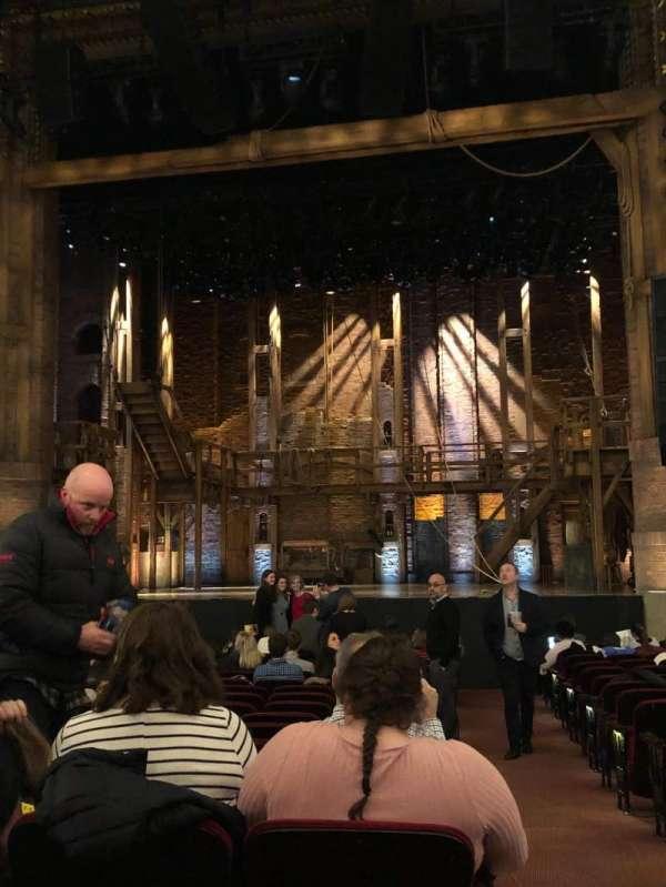 CIBC Theatre, secção: Orchestra C, fila: T, lugar: 115