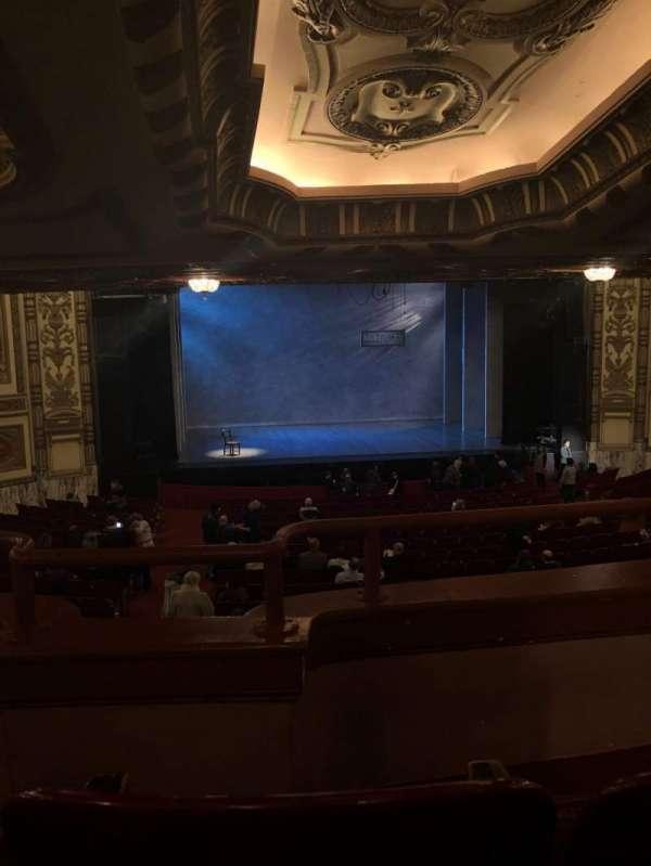 Cadillac Palace Theater, secção: Dress Circle LC, fila: B, lugar: 209