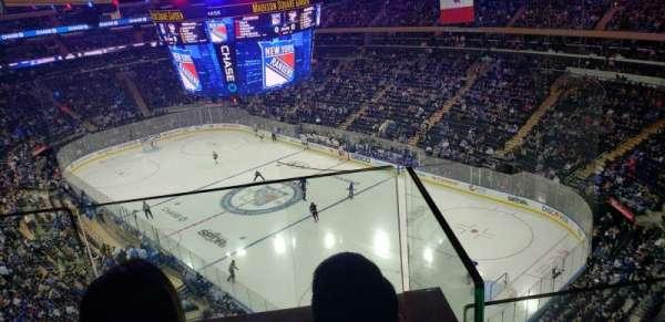 Madison Square Garden, secção: 301, fila: 2, lugar: 15