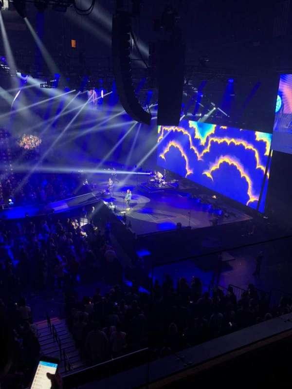 Mohegan Sun Arena, secção: 106, fila: B, lugar: 2