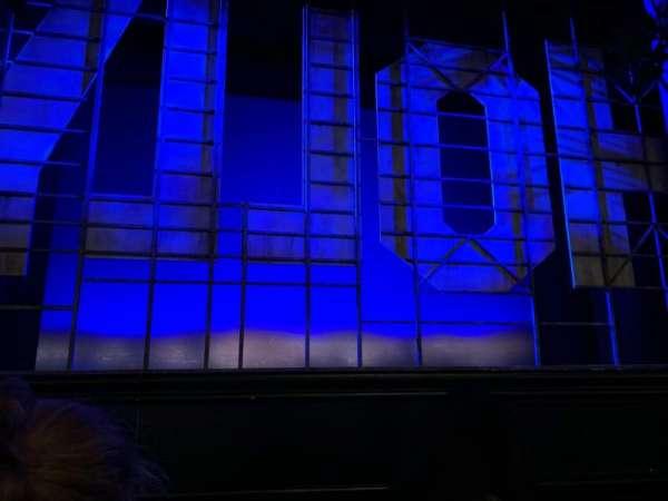 Nederlander Theatre, secção: Orchestra C, fila: B, lugar: 112