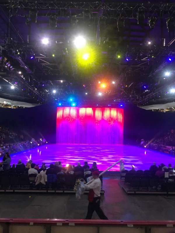 Cure Insurance Arena, secção: 111, fila: FF