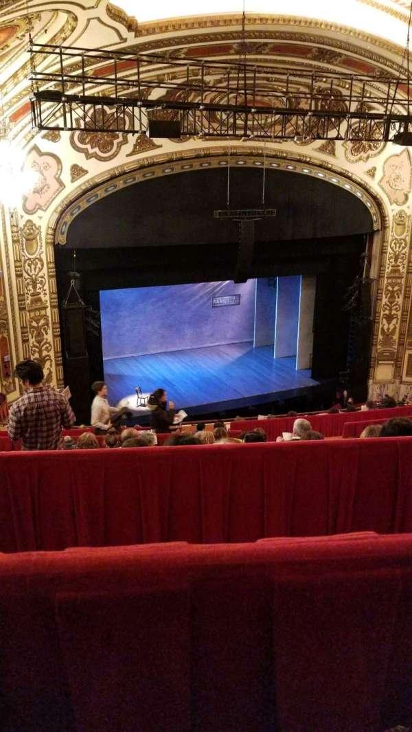 Cadillac Palace Theater, secção: Balcony L, fila: L, lugar: 17