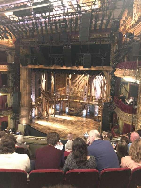 CIBC Theatre, secção: Mezzanine R, fila: G, lugar: 10