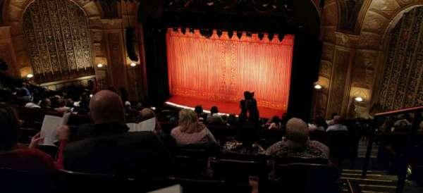 Detroit Opera House, secção: Mezzanine 4, fila: G, lugar: 122