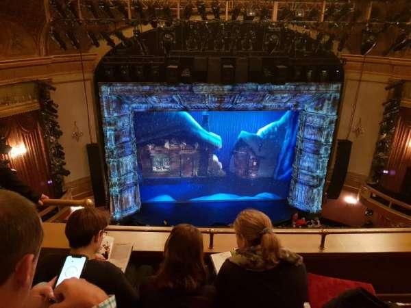 St. James Theatre, secção: Balcony C, fila: C, lugar: 113