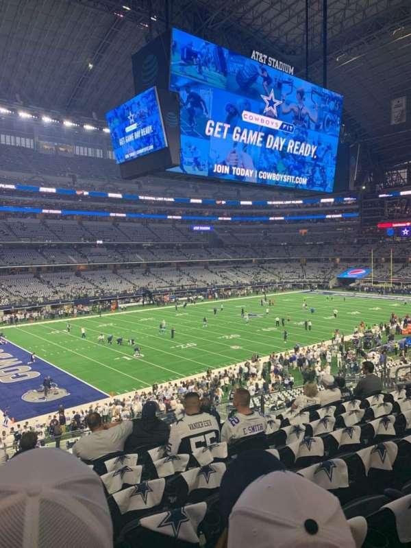 AT&T Stadium, secção: 216, fila: 8