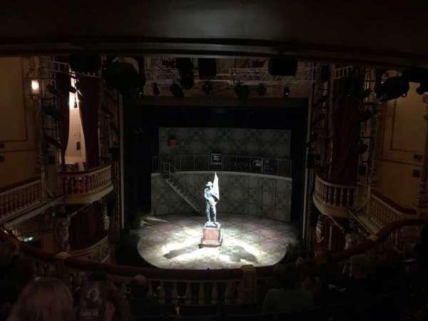 Playhouse Theatre, secção: DC, fila: F, lugar: 13