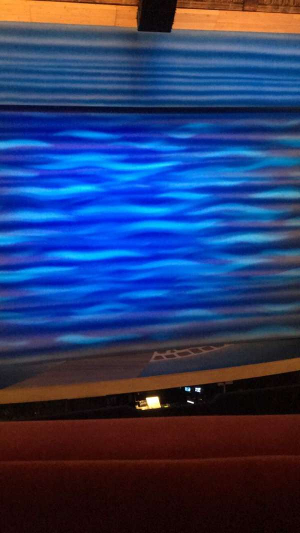Novello Theatre, secção: Dress Circle, fila: A, lugar: 18