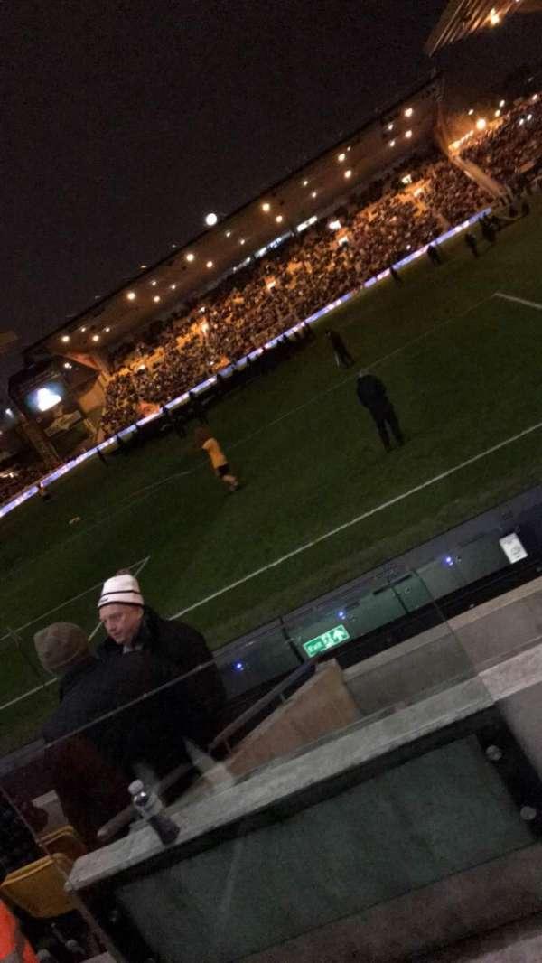 Molineux Stadium, secção: NL2, fila: G, lugar: 41