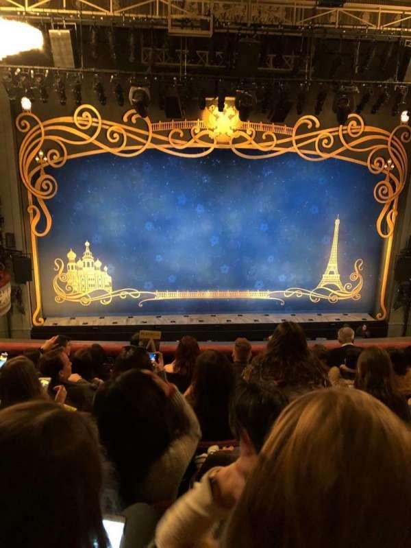 Broadhurst Theatre, secção: Mezzanine C, fila: G, lugar: 103