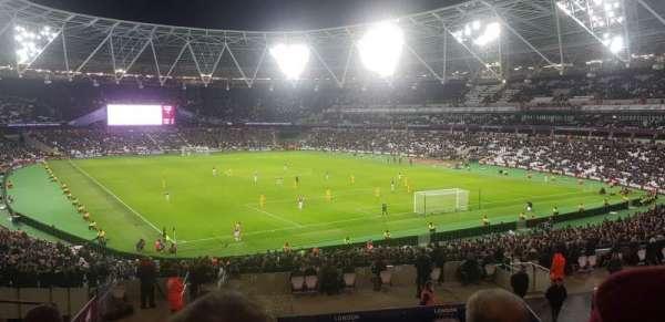 London Stadium, secção: 245, fila: 37