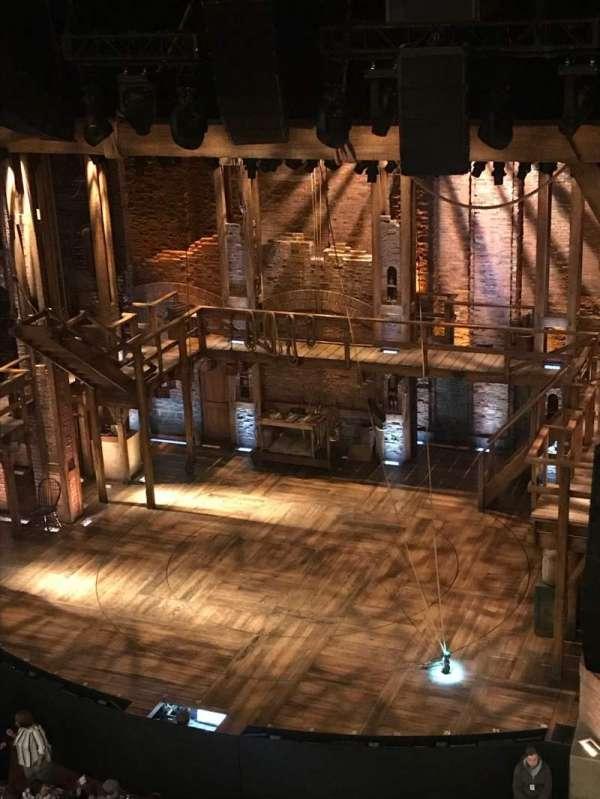 CIBC Theatre, secção: Balcony R, fila: A, lugar: 2-4