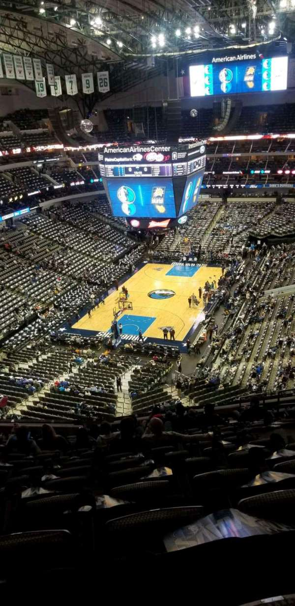 American Airlines Center, secção: 333, fila: k, lugar: 7
