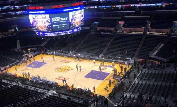 Staples Center, secção: 332, fila: 8, lugar: 6