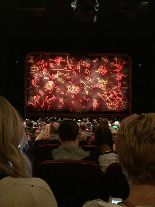 Minskoff Theatre, secção: Orchestra C, fila: X, lugar: 114