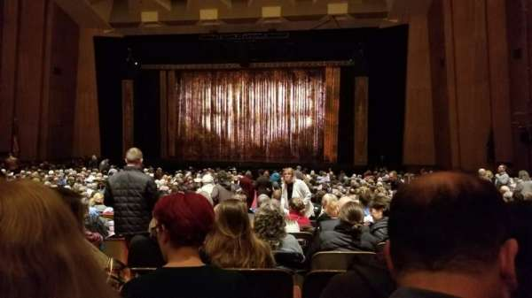 Keller Auditorium, secção: Orchestra D, fila: AA, lugar: 3