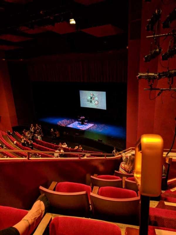 San Diego Civic Theatre, secção: Upper Loge Right 1, fila: E, lugar: 6