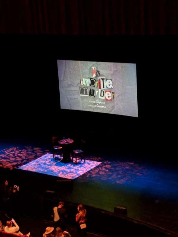 San Diego Civic Theatre, secção: ULOGER, fila: E, lugar: 6