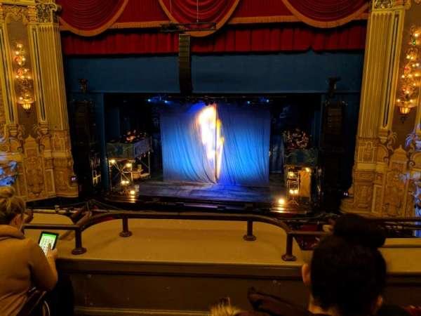 Nederlander Theatre (Chicago), secção: LogeR, fila: C, lugar: 320