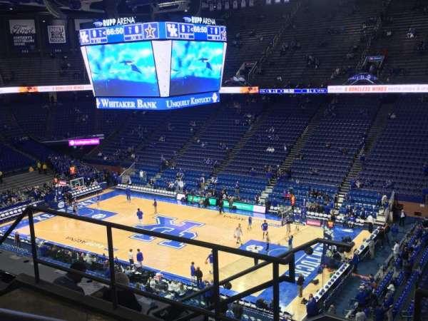 Rupp Arena , secção: 228, fila: E, lugar: 8