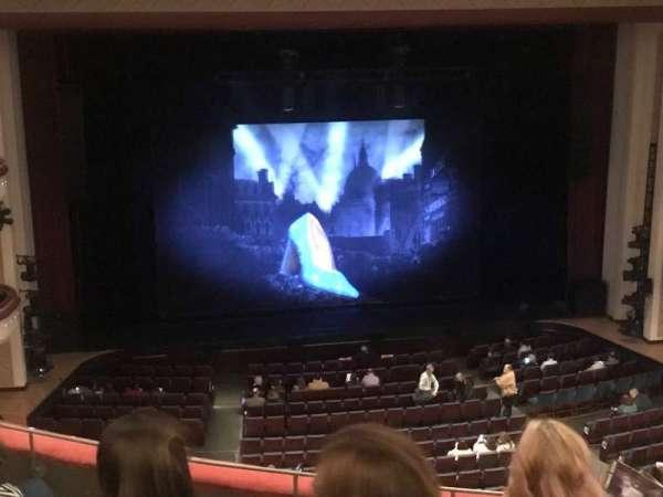 Belk Theater, secção: Mezzanine, fila: D, lugar: 213