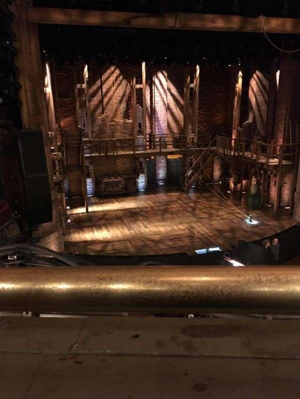 CIBC Theatre, secção: Mezzanine Left Center, fila: A, lugar: 321