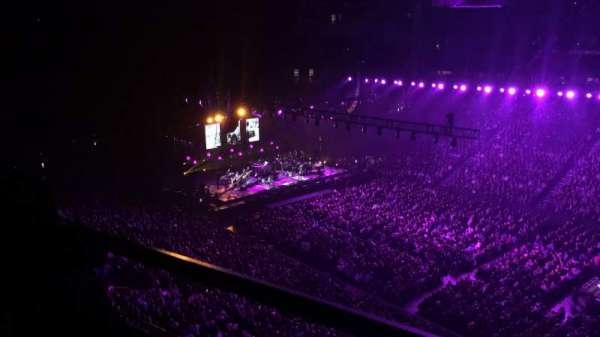 Bridgestone Arena, secção: 328, fila: A, lugar: 9