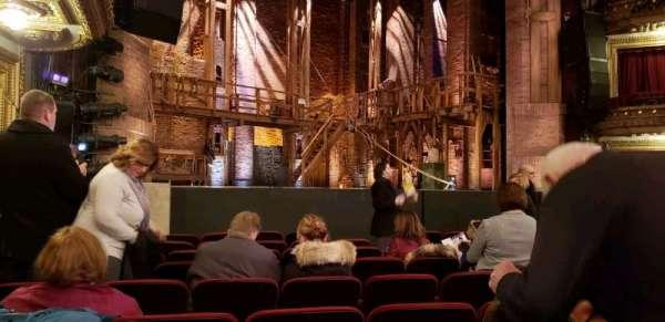 CIBC Theatre, secção: orchestra L, fila: K, lugar: 17-19