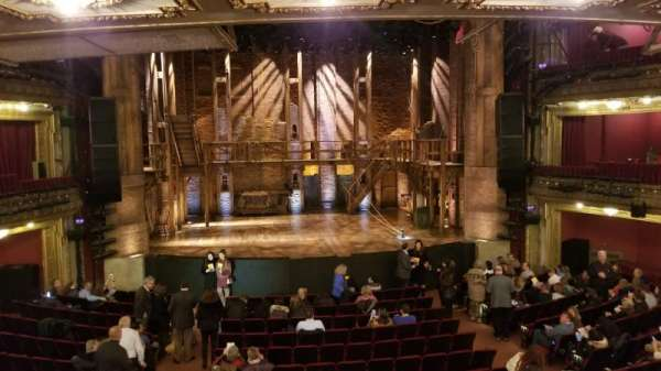 CIBC Theatre, secção: Dress Circle LC, fila: A, lugar: 202