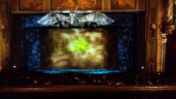 Hollywood Pantages Theatre, secção: Mezzanine C, fila: A, lugar: 101