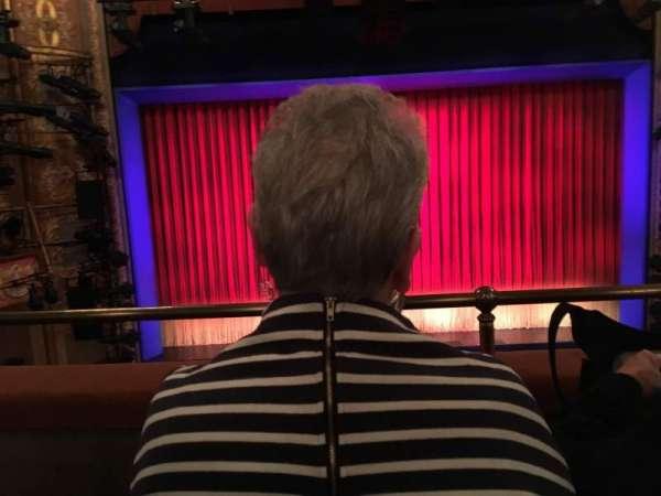 Longacre Theatre, secção: Mezzanine C, fila: B, lugar: 110