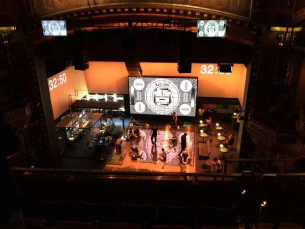Belasco Theatre, secção: Balcony C, fila: E, lugar: 114