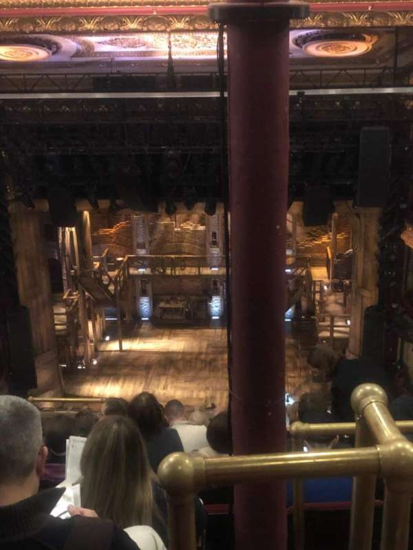 CIBC Theatre, secção: Balcony RC, fila: K, lugar: 408
