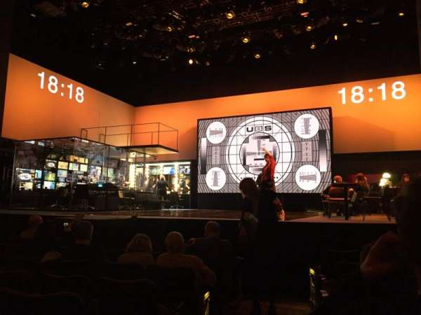 Belasco Theatre, secção: Orchestra R, fila: H, lugar: 2