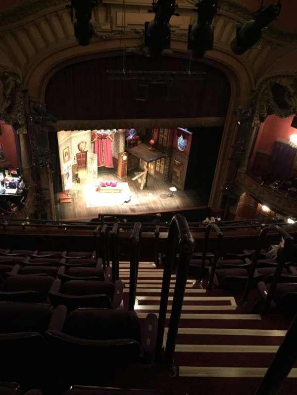 Lyceum Theatre (Broadway), secção: Balcony L, fila: G, lugar: 1