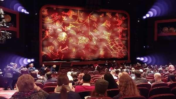Minskoff Theatre, secção: Orchestra C, fila: X, lugar: 101