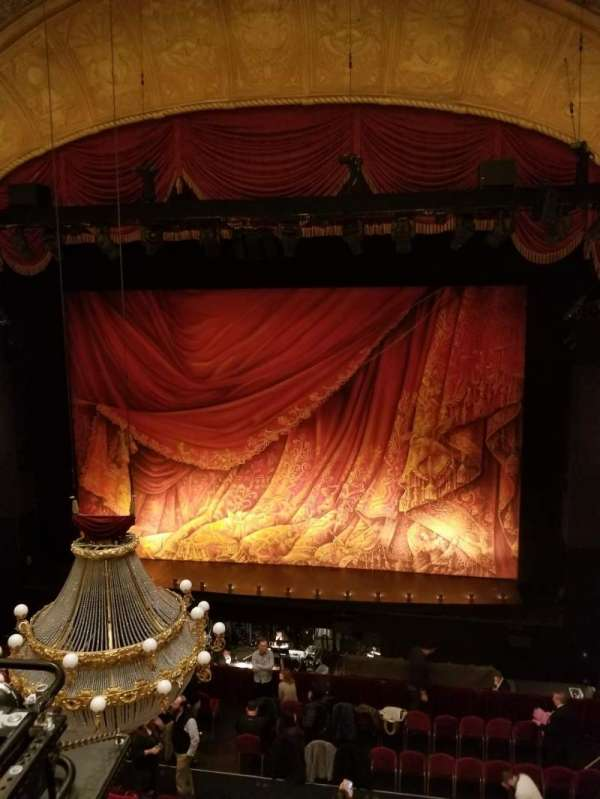 Detroit Opera House, secção: Trustee Circle 2, fila: AA, lugar: 212