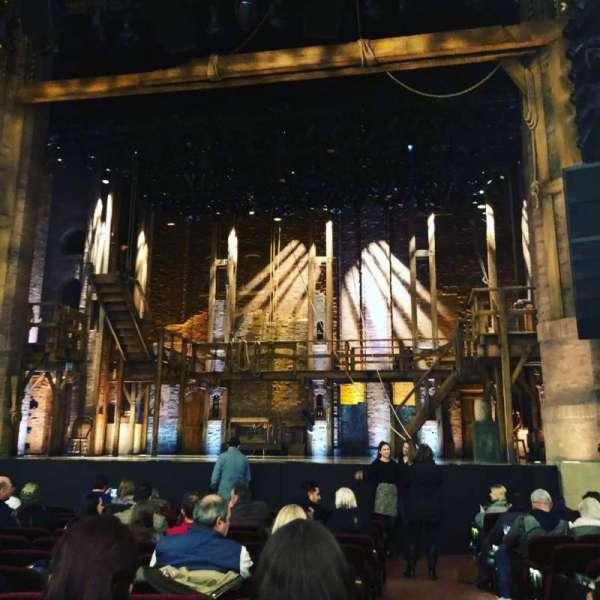 CIBC Theatre, secção: Orchestra C, fila: N, lugar: 114