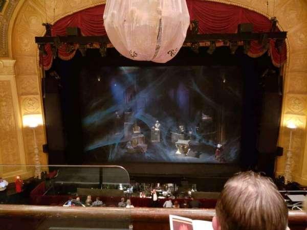 Detroit Opera House, secção: Trustee Circle 2, fila: BB, lugar: 202