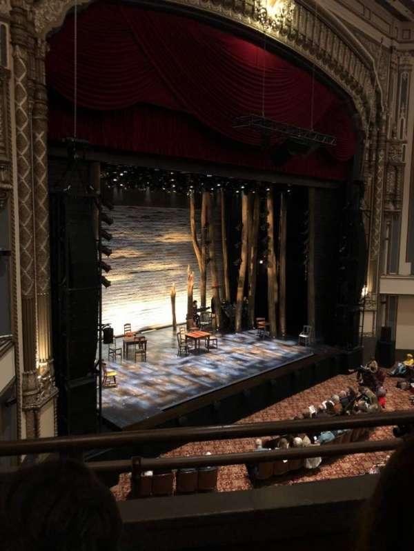 Golden Gate Theatre, secção: Loge, fila: B, lugar: 27