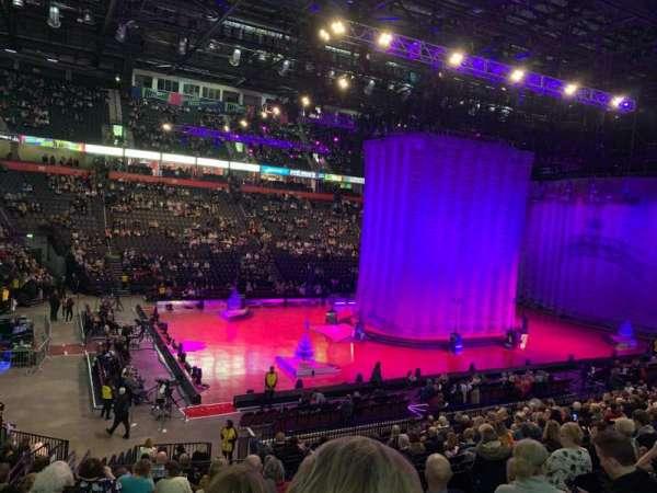 Manchester Arena, secção: 112, fila: T, lugar: 12