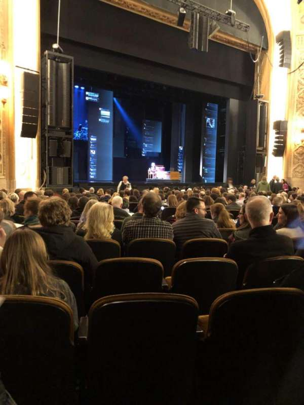Paramount Theatre (Seattle), secção: MF4, fila: T, lugar: 7