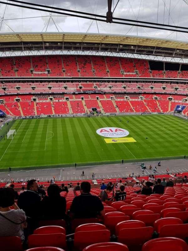 Wembley Stadium, secção: 529, fila: 21, lugar: 62