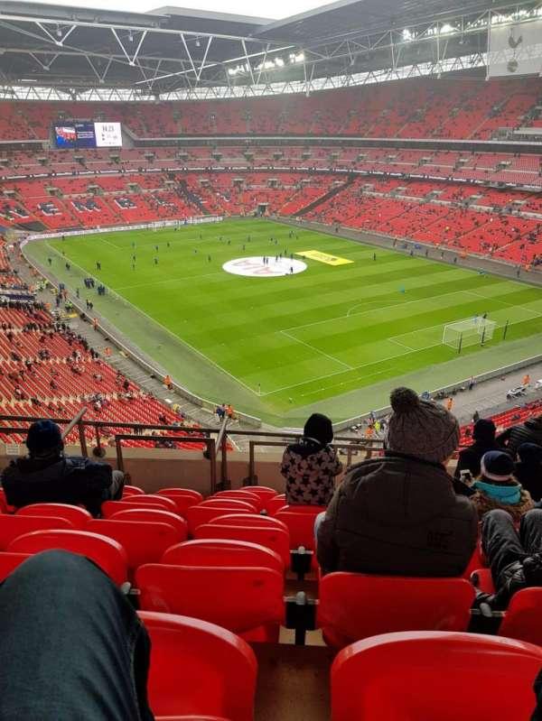 Wembley Stadium, secção: 544, fila: 10, lugar: 145