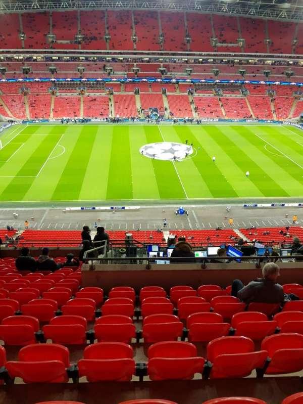 Wembley Stadium, secção: 528, fila: 14, lugar: 27