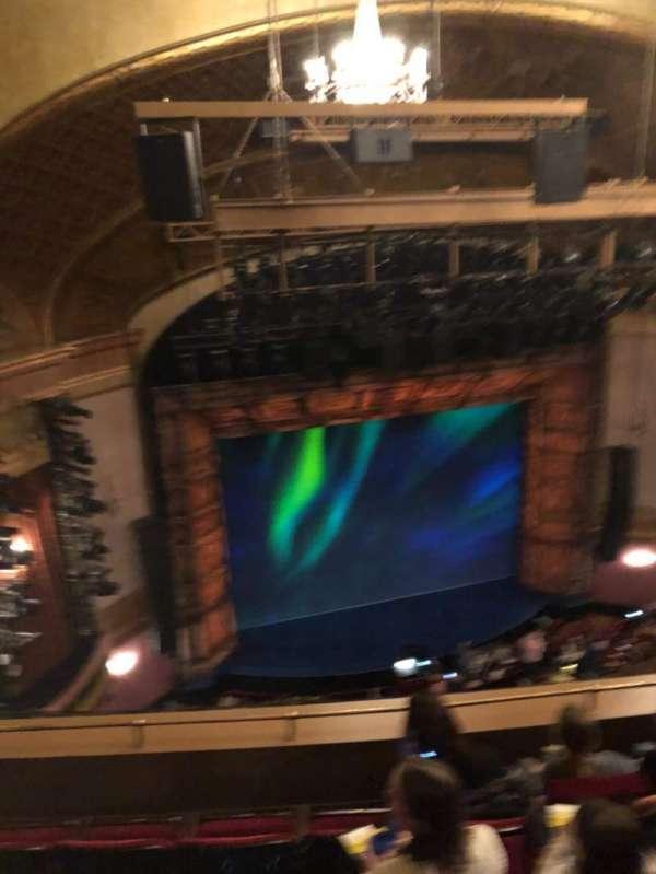 St. James Theatre, secção: Balcony L, fila: E, lugar: 17