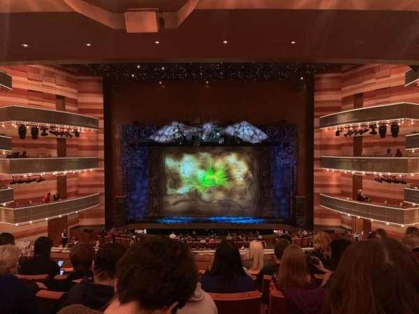 Eccles Theater, secção: Tier 1, fila: F, lugar: 9
