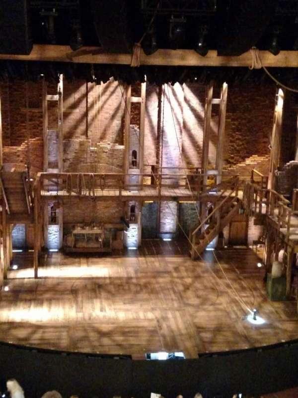 CIBC Theatre, secção: Mezzanine LC, fila: F, lugar: 307 and 309