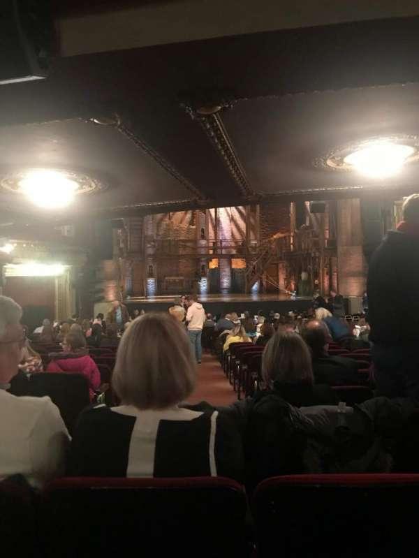 CIBC Theatre, secção: Orchestra LC, fila: Y, lugar: 101